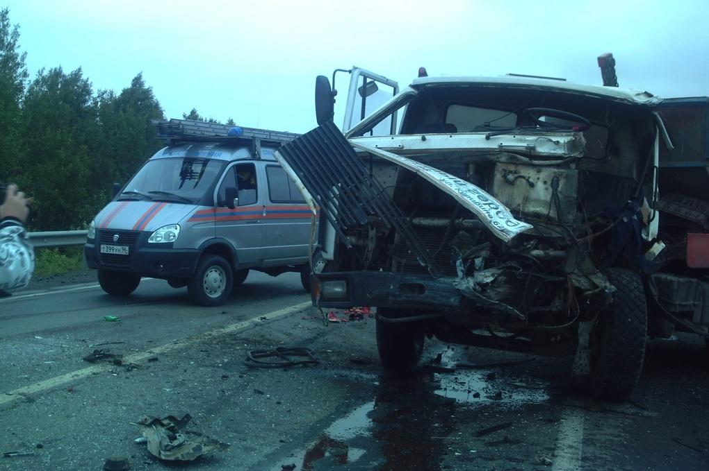 На «трассе смерти» в ДТП попал рейсовый автобус