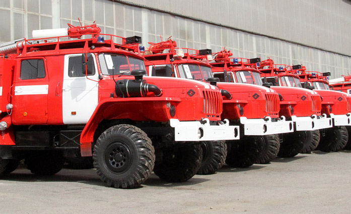 Воспитанники Камышловского детдома записались в пожарные