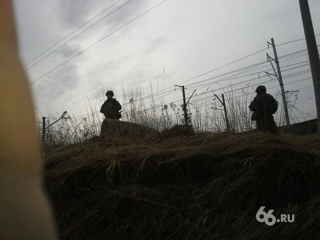 Военные оцепили станцию Сортировочную. Говорят, идут учения
