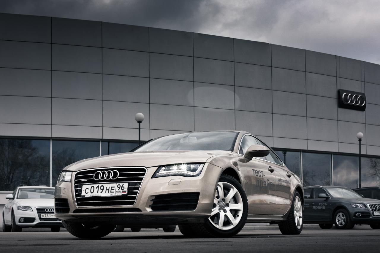 VIP-тест: Яна Губина и Audi A7 sportback
