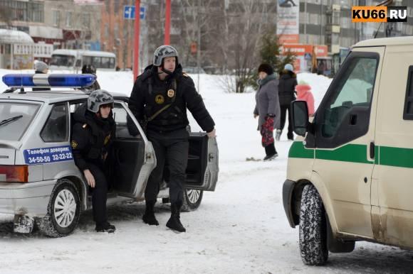 В Каменске-Уральском полицейские устроили «ограбление» Сбербанка