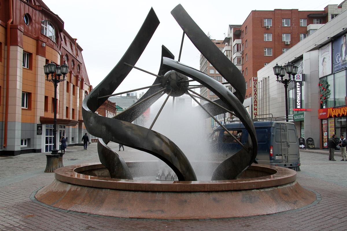 В Екатеринбурге начали включать фонтаны