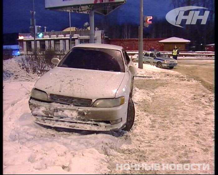 В Екатеринбурге ГИБДД преследовала пьяного гонщика