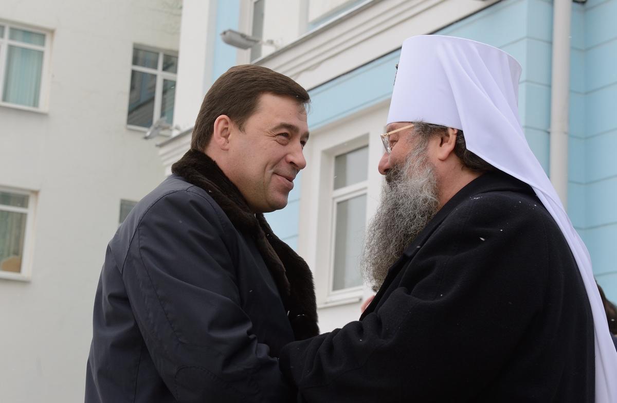 Митрополит Кирилл: Храм на площади Труда безусловно будет восстановлен