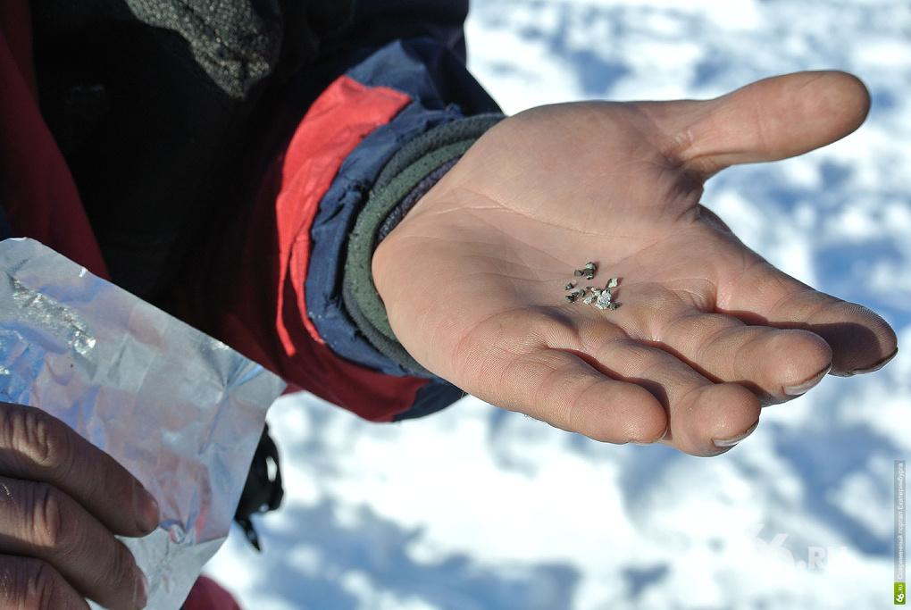 Екатеринбургский ученый рассказал, чем пахнет челябинский метеорит