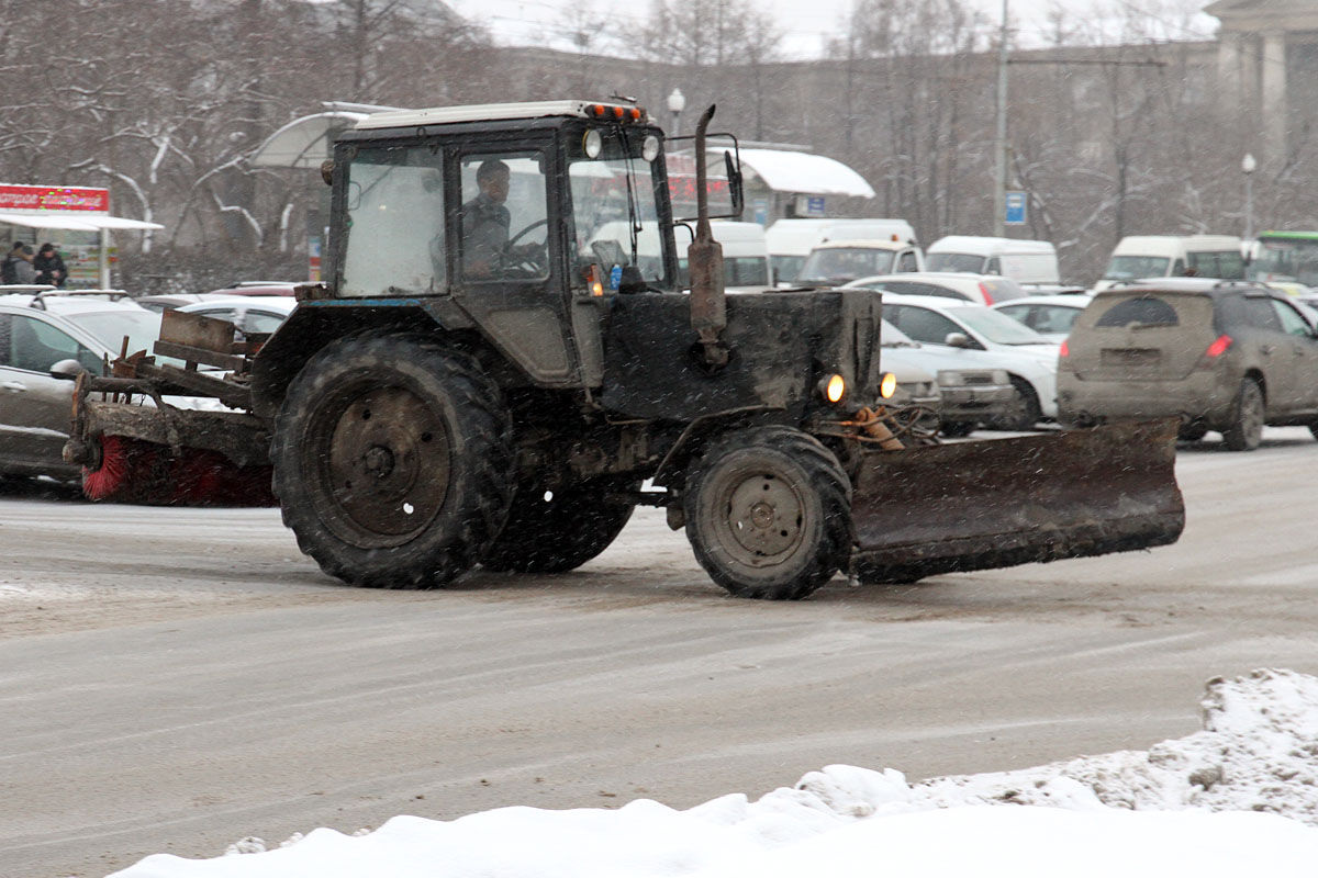 За выходные из города вывезли более 20 тысяч тонн снега