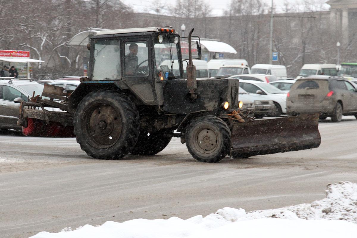 В октябре из Екатеринбурга вывезли почти 100 тысяч тонн снега