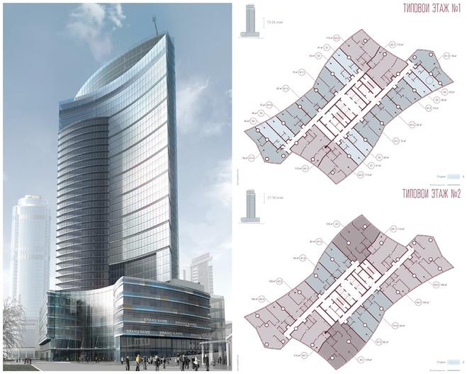 Третий небоскреб в Екатеринбурге: «Опера Тауэр» показалась из-за забора