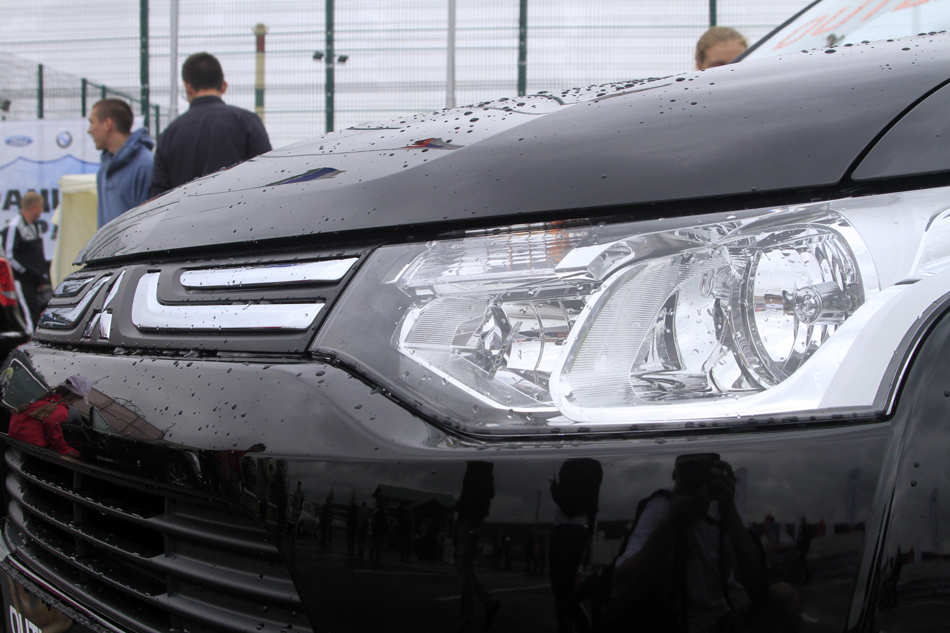 Новый Mitsubishi Outlander показали в Екатеринбурге
