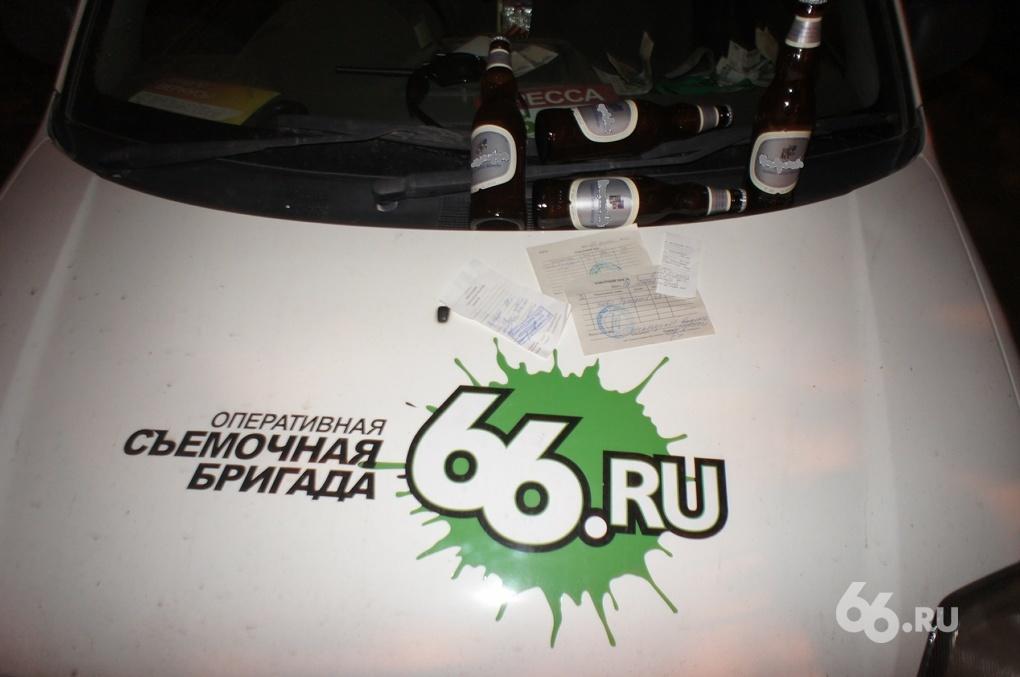 Ночной рейд 66.ru: «Пиво продавать нельзя? Нет, не слышали»