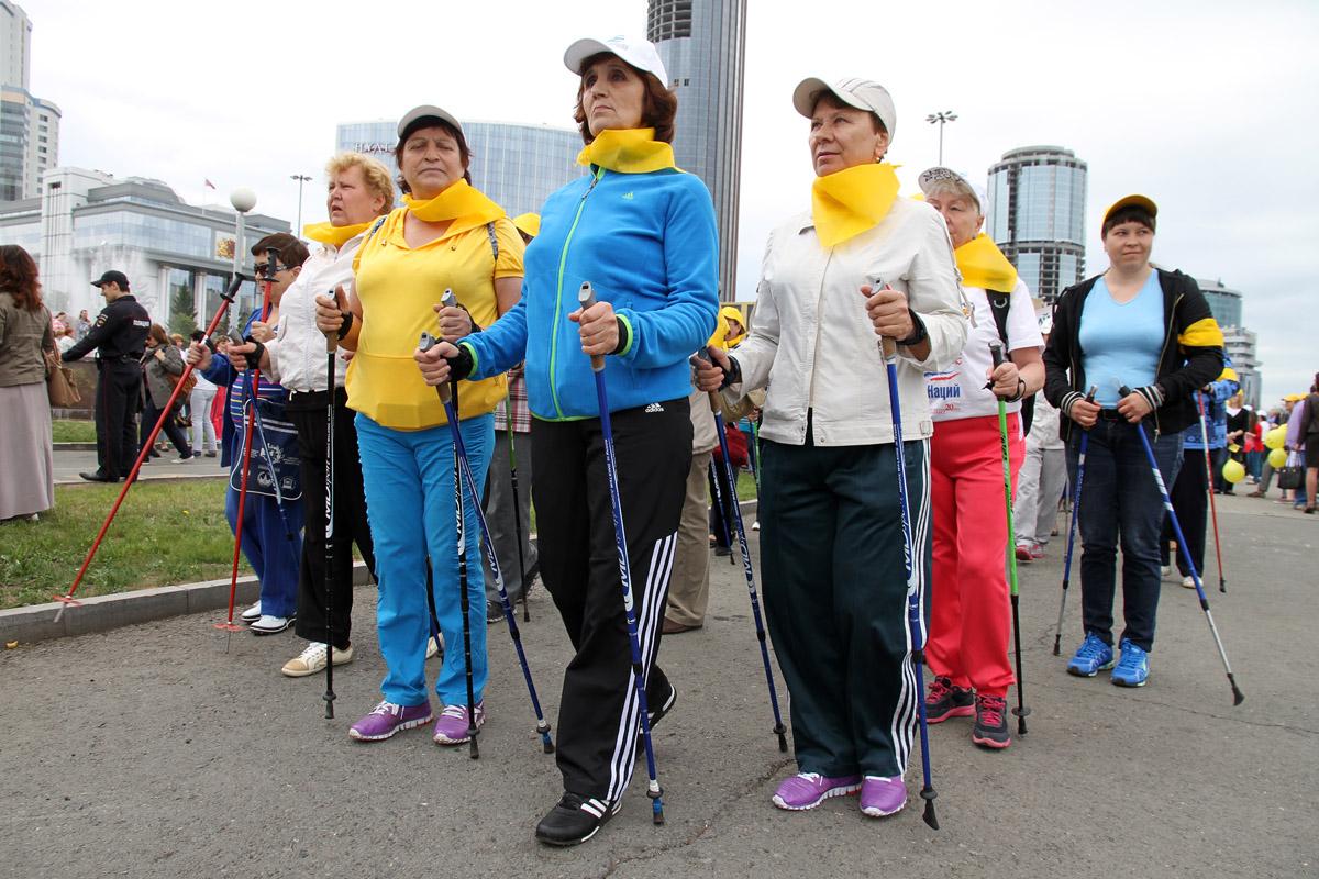 Шествие «3000 шагов к здоровью» прошло в Екатеринбурге