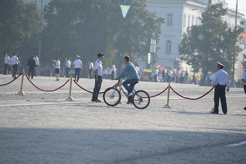 Центр Екатеринбурга перекроют из-за Дня города
