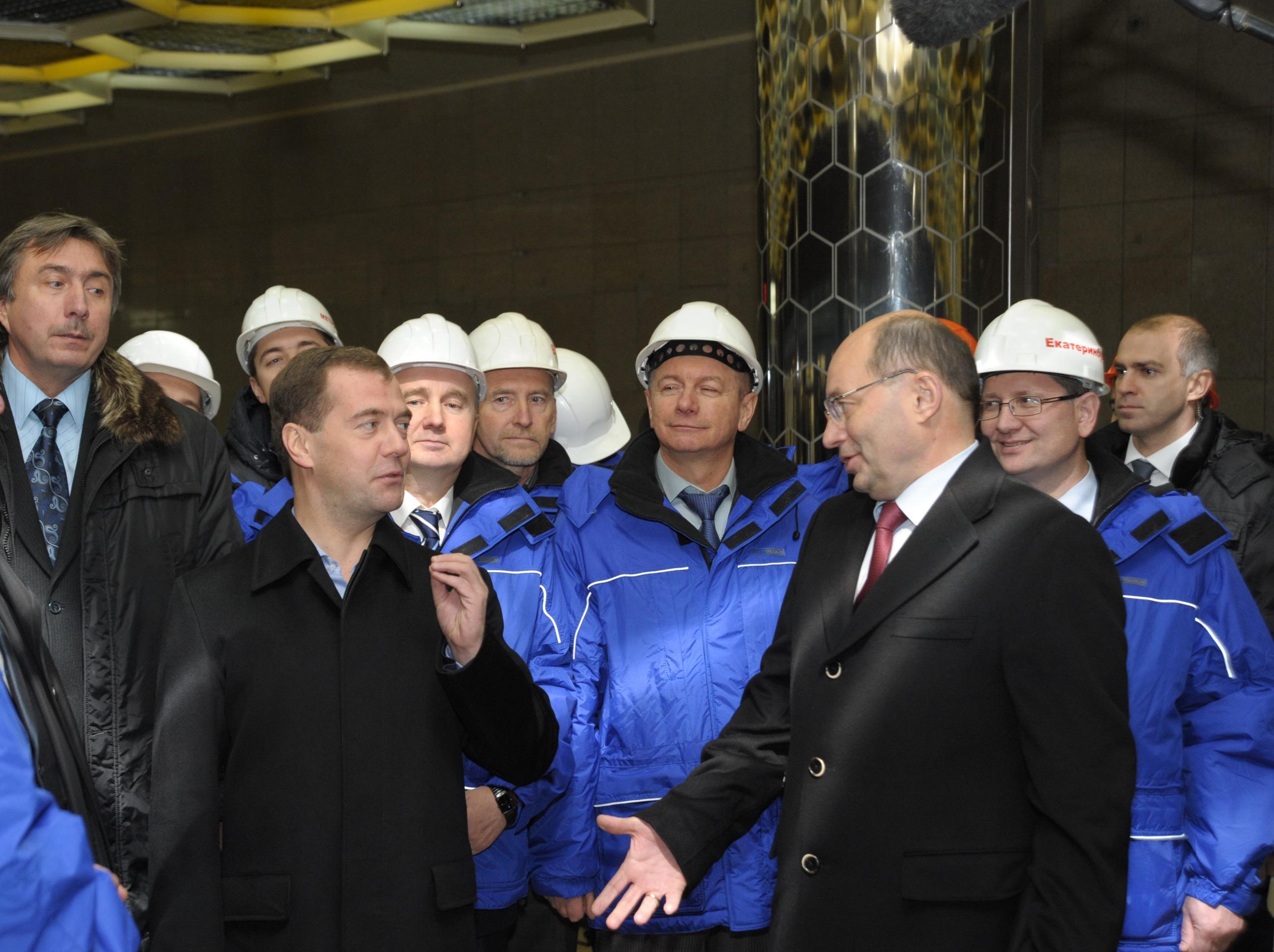 Заработало! Дмитрий Медведев запустил «Ботаническую»