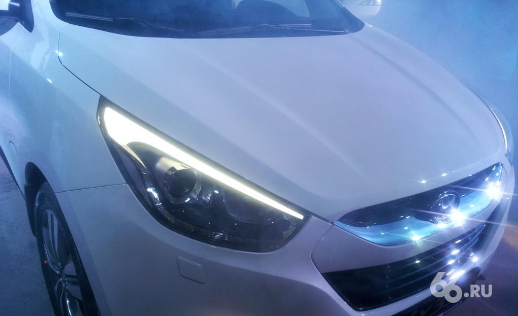 «Камера, мотор!»: в Екатеринбурге показали новый Hyundai ix35