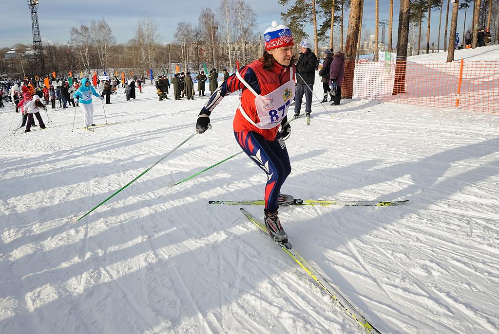 «Лыжня России — 2014» пройдет в Екатеринбурге на девяти площадках