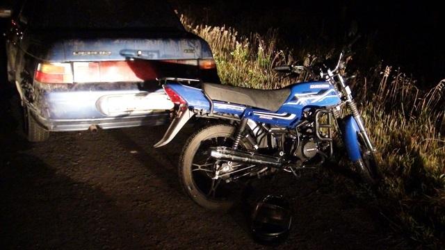 В ДТП под Артемовским пострадал 14-летний мотоциклист
