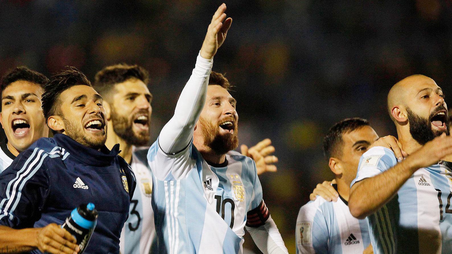 Жители России проиграли аргентинцам срезультатом 0:1