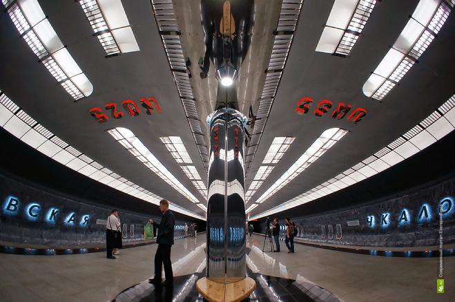 Мэрия: горожане пересаживаются с автотранспорта в метро