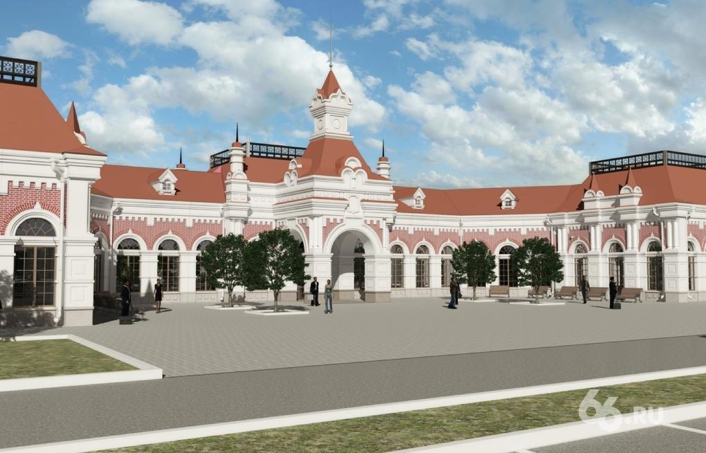 На ЕКАД строят первый в Екатеринбурге аутлет-центр