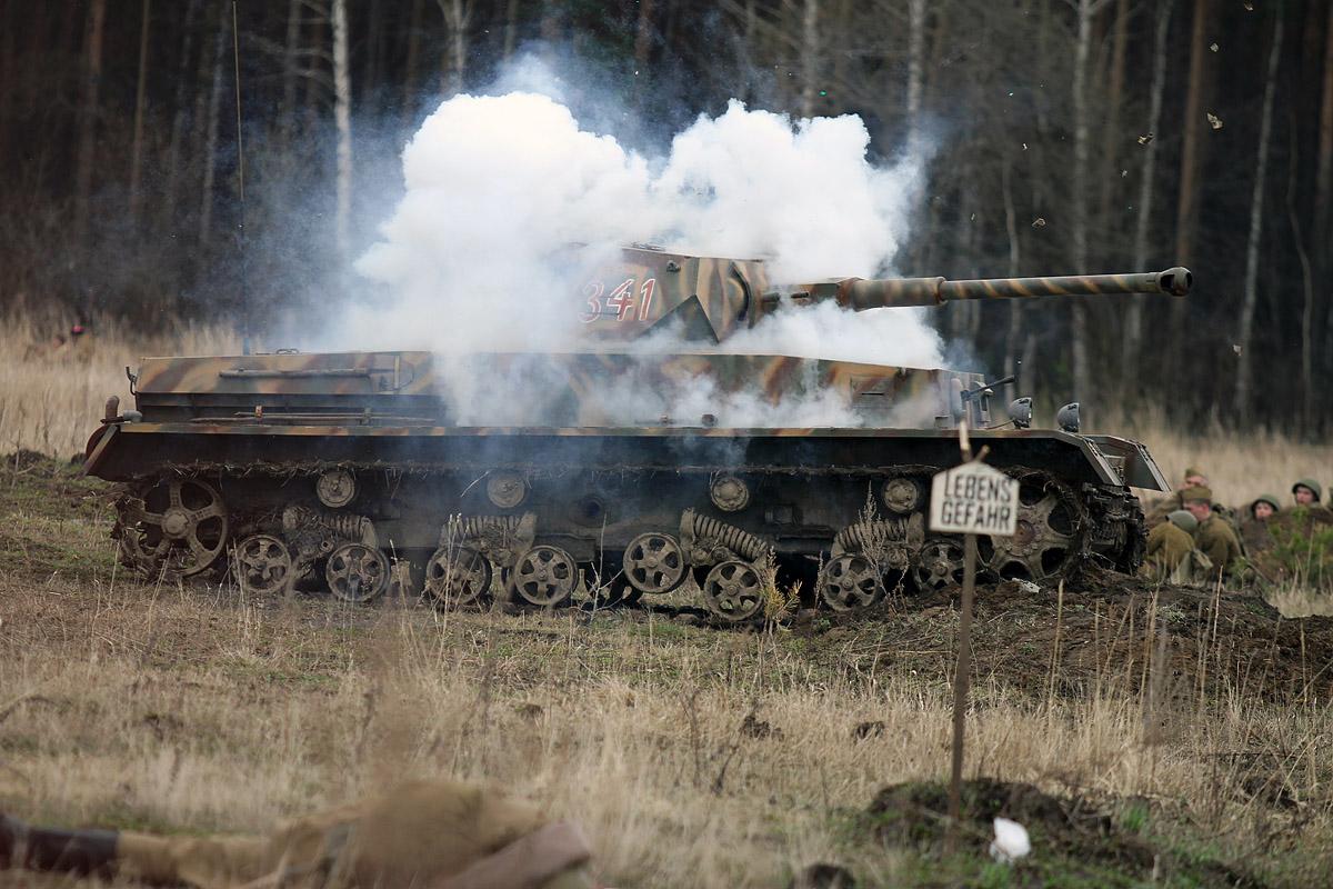 Фоторепортаж 66.ru: советские войска разбили немцев на Шарташе