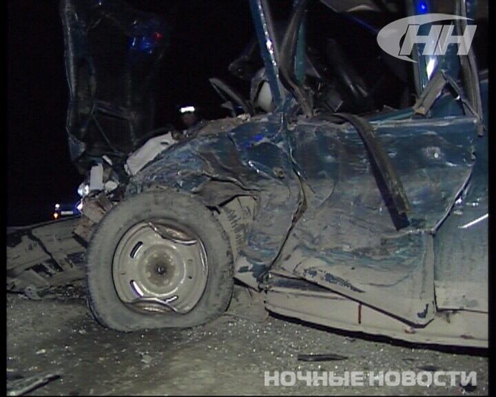 На ЕКАД «Москвич» столкнулся с ВАЗом