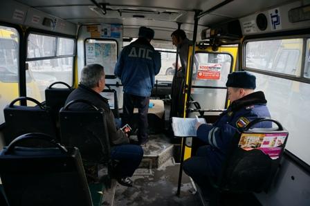 Полицейские, проехавшись по двум маршрутам, выписали штрафы на 13 тысяч