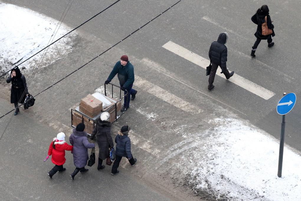 На Челябинском тракте сбили ребенка, переходящего дорогу по зебре
