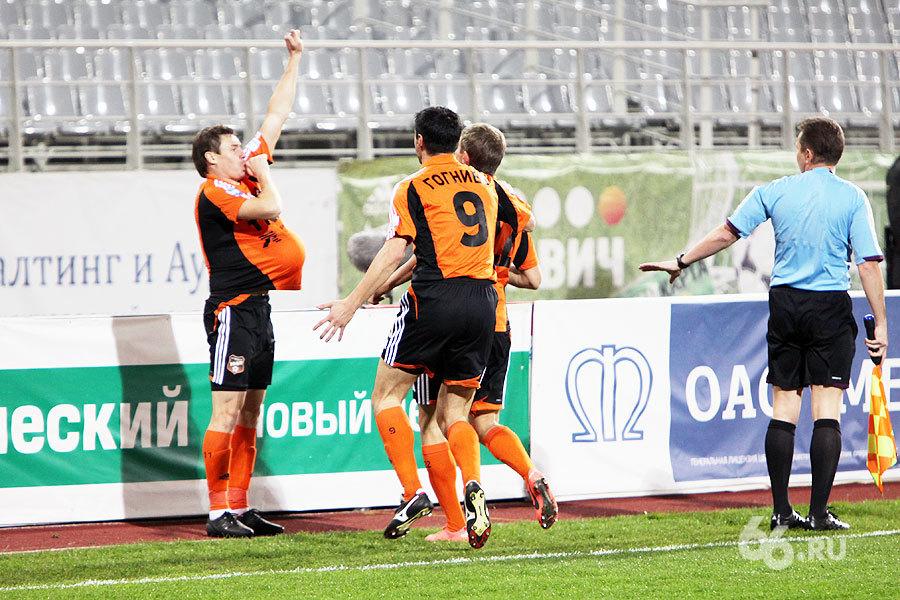 Футбольный «Урал» всухую обыграл «Нефтехимик»