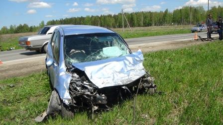 Причиной ДТП на Сибирском тракте стала плохая дорога