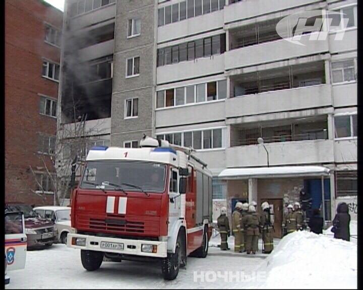 В пожаре на Панельной пострадал мужчина