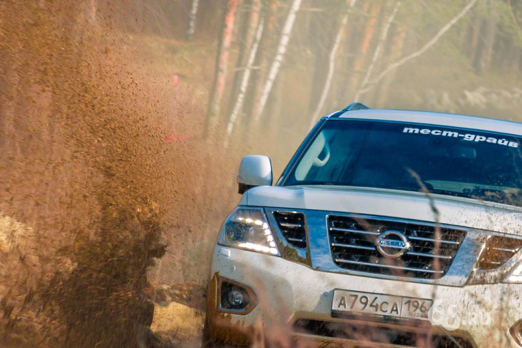 Шейх-кар: тестируем обновленный Nissan Patrol