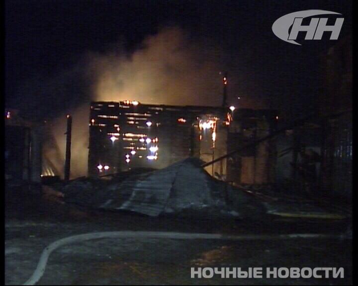 Ночью в Горном Щите сгорел нежилой дом