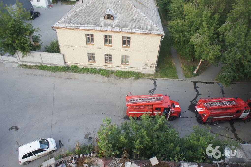В Екатеринбурге появился поджигатель
