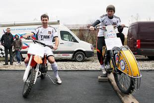 Футбольным болельщикам покажут чемпионские мотоциклы