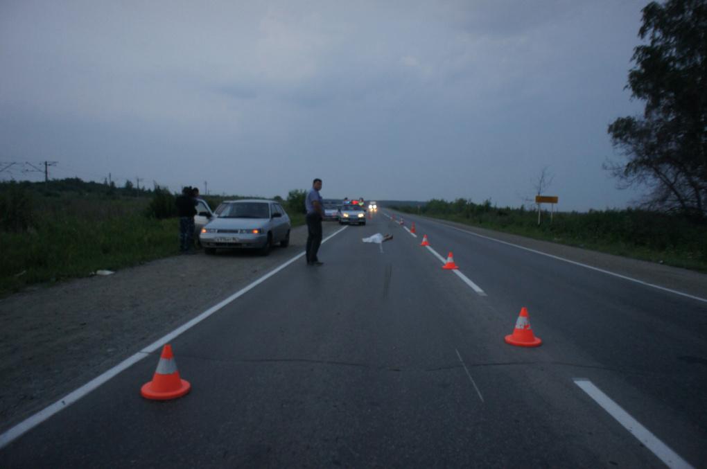 В ДТП под Кольцово погиб пешеход