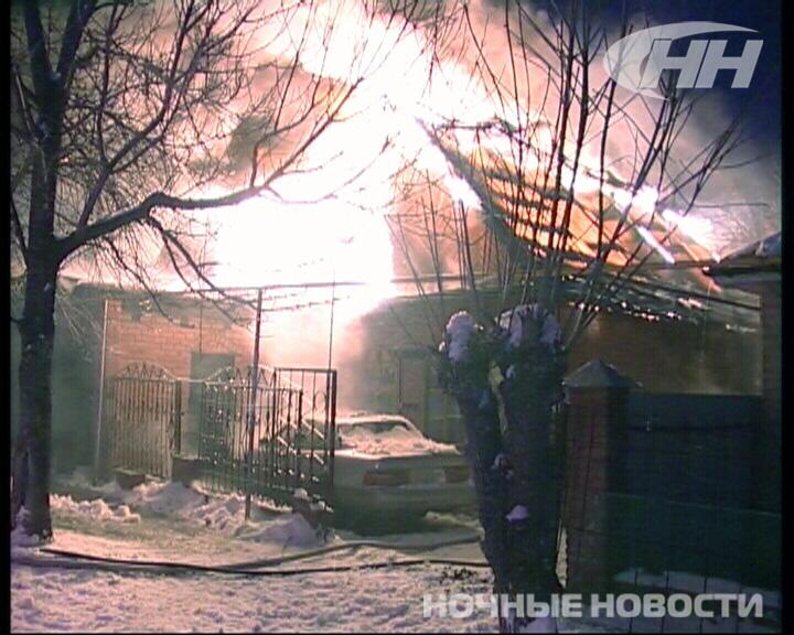 На Депутатской вечером горел частный дом
