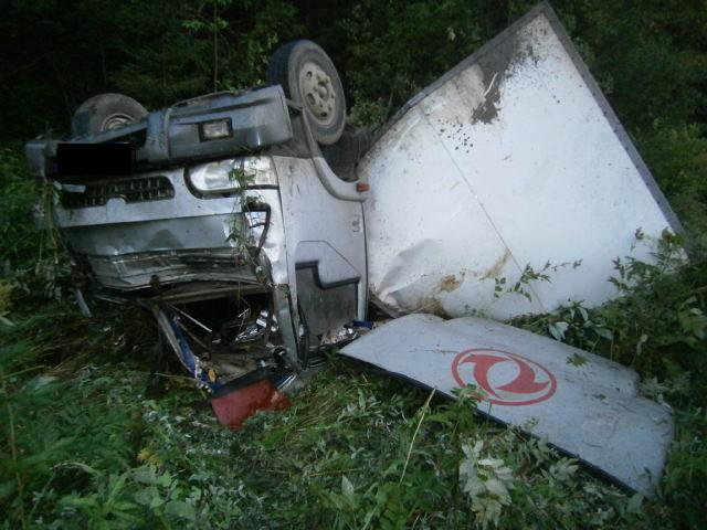 Три человека пострадали в аварии на трассе
