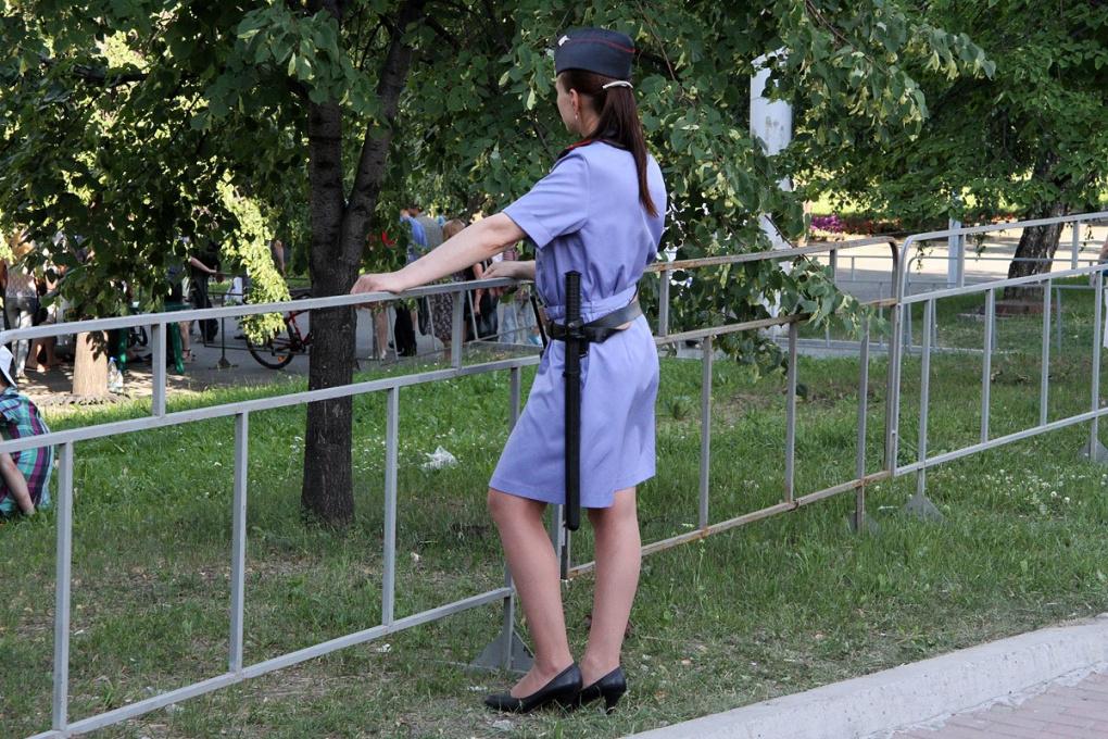 Разрулили странное ДТП у автовокзала: мадам-полицейская не виновата