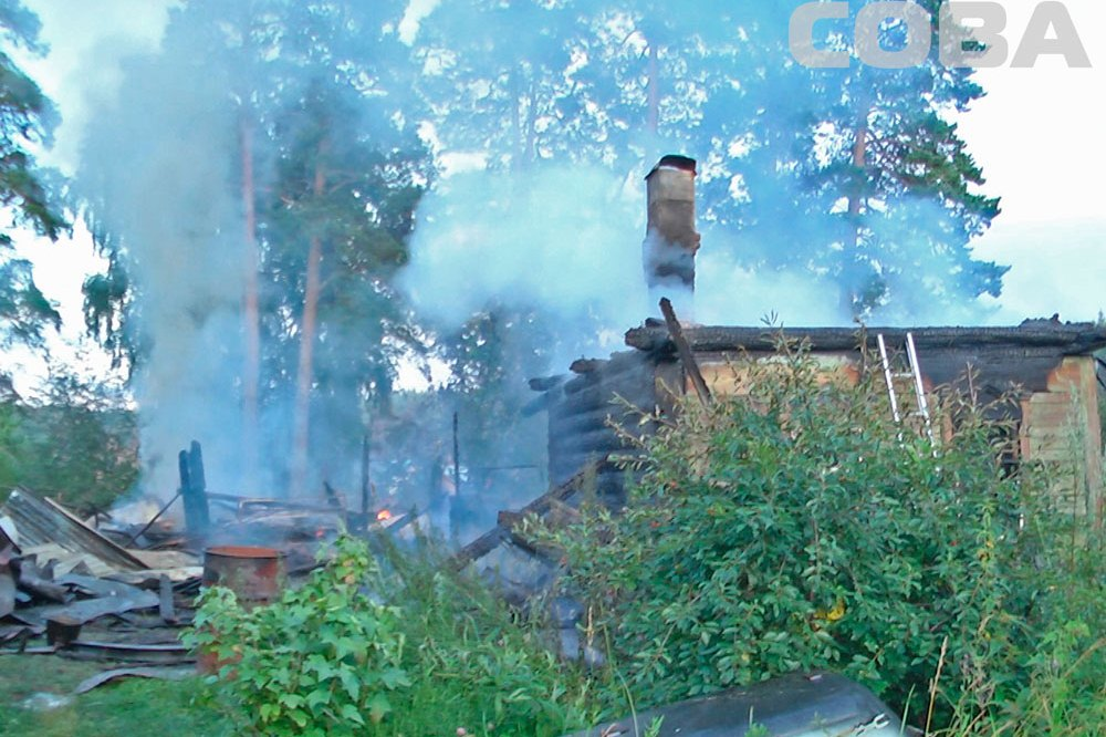 Спасатели с трудом справились с пожаром в саду «Энергетик»