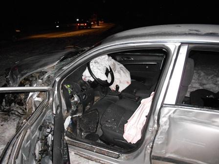 В лобовом ДТП под Балтымом пострадали 5 человек