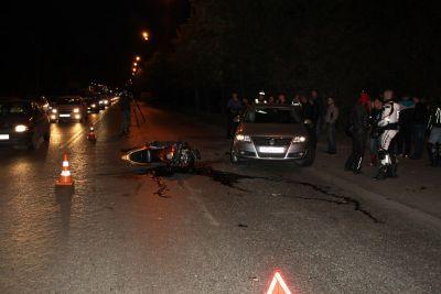 В ДТП на Вторчермете погиб мотоциклист