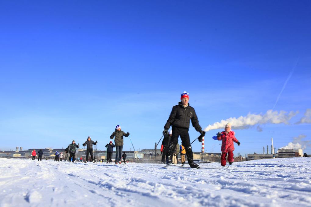 Участников «Лыжни России» в Екатеринбурге бесплатно довезут до старта