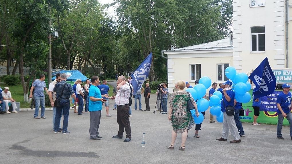 ВЕкатеринбурге дальнобойщики будут митинговать против «Платона»