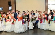 В Екатеринбурге выбрали бриллиантовую невесту