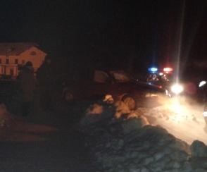 В Североуральском районе пьяный водитель Daewoo Nexia сбил девушку