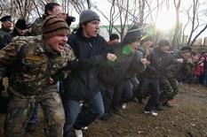 Екатеринбуржцы сошлись в кулачном бою