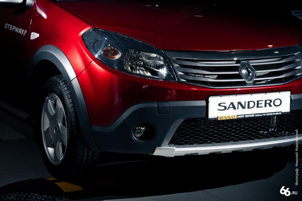 Renault Sandero Stepway: cross-ovok