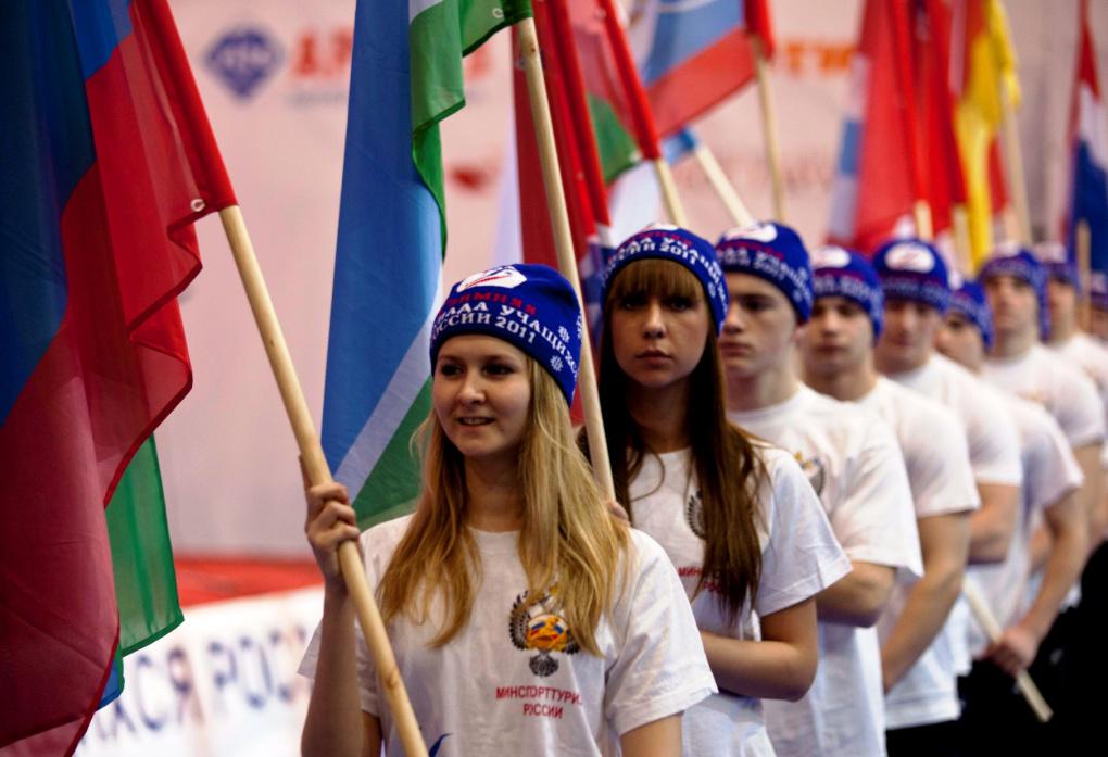 Фоторепортаж 66.ru: Олимпийский огонь для будущих олимпийцев