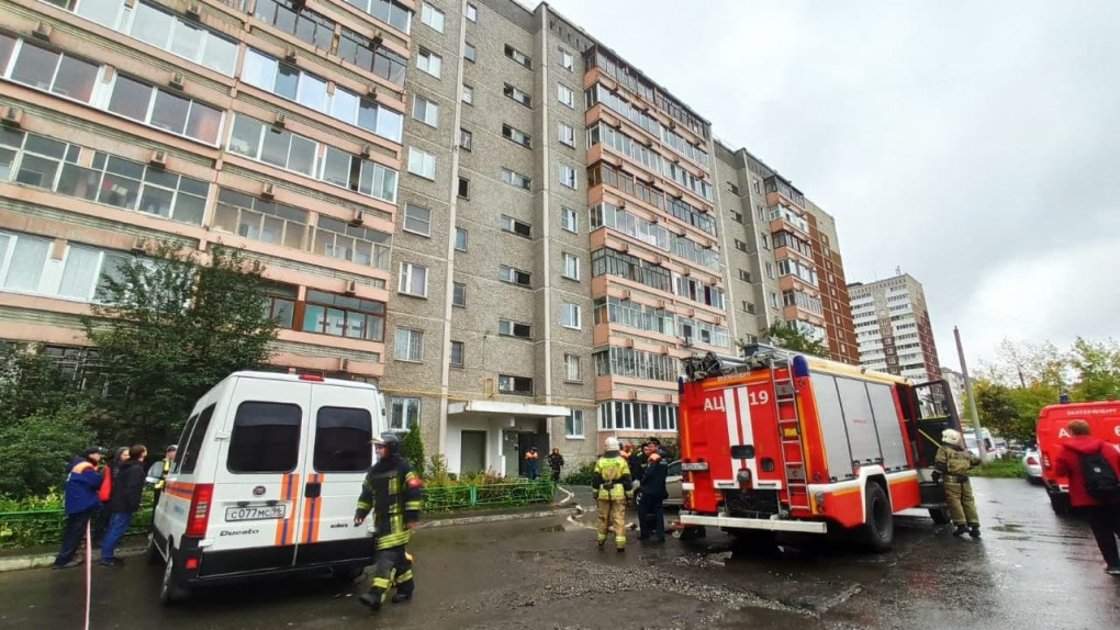 В многоквартирном доме на Уралмаше взорвался газ. Фото