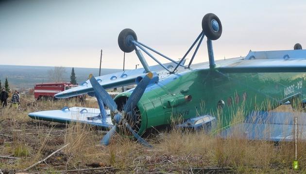 Следователи ищут причину падения Ан-2 под Ивделем